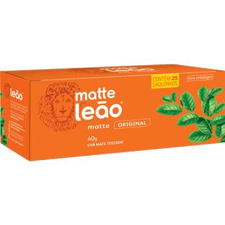 Chá Mate Natural Leão 40g