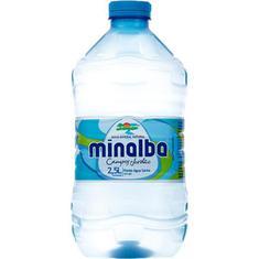 Água Mineral sem Gás Minalba 2,5L