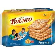 Biscoito Água e Sal Triunfo 375g