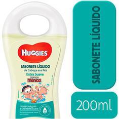 Sabonete Infantil Líquido Huggies Suave 200ml