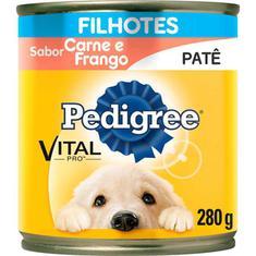 Alimento para Cães Junior sabor Carne Pedigree Lata 280g