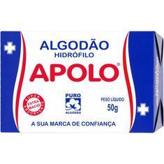 Algodão Hidrófilo Apolo 50g