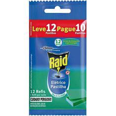 Inseticida Raid Pastilha Eucalipto Refil Leve 12 Pague 10