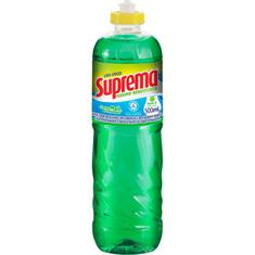 Detergente Líquido Suprema Limão 500ml
