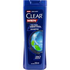 Shampoo Clear Ice Cool Menthol 200ml