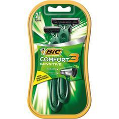 Aparelho Barbear Bic Comfort 3 Sens 2un.