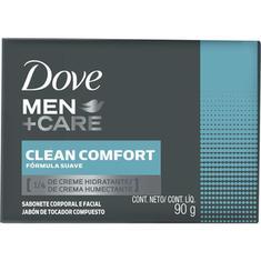 Sabonete Dove Men Care Clean c/fort 90g