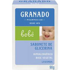 Sabonete Infantil Granado Bebê Lavanda 90g