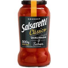 Molho de Tomate Classic Salsaretti Vidro 500g