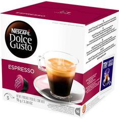 Cápsulas de Café Espresso Nescafé Dolce Gusto 96g