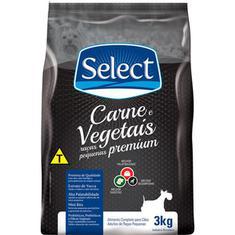 Ração para Cães Raças Pequenas Carne e Vegetais Select 3kg