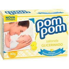 Sabonete Infantil Pom Pom Glicerina 80g