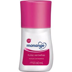 Desodorante Roll On Monange Frutas Vermelhas 60ml