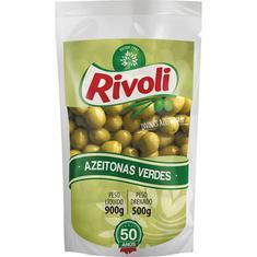 Azeitona Verde com Caroço Rivoli 500g
