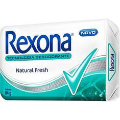Sabonete Rexona Natural Fresh 84g
