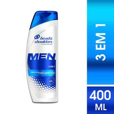 Shampoo de Cuidados com a Raiz Head & Shoulders Men 3em1 400ml