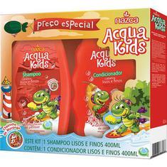 Shampoo+Condicionador Infantil Acqua Kids Lisos e Finos 250ml