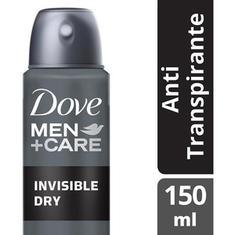 Desodorante Aerossol Dove Men Care Invisible 89g