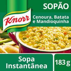 Sopão Knorr Batata, Cenoura, Mandioca e Macarrão 183g