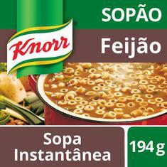 Sopão Mais Macarrão Knorr Feijão 194g