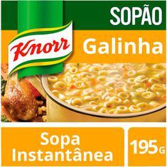 Sopão Mais Macarrão Knorr Galinha 195g