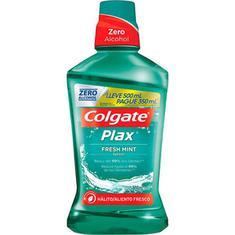 Solução Bucal Colgate Plax  Fresh Mint Leve 500ml e Pague 350ml