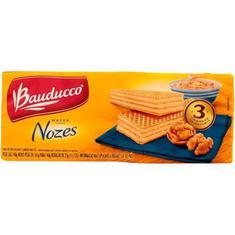 Biscoito Wafer Sabor Nozes Bauducco 140g