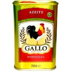 Azeite Extra Virgem Português Gallo 200ml