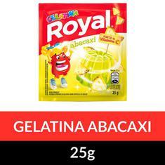 Gelatina Pó Royal Abacaxi 25g
