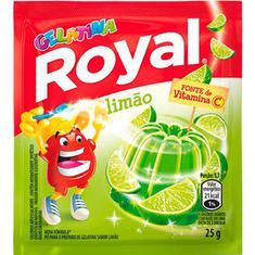 Gelatina Pó Royal Limão 25g