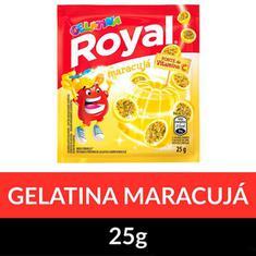 Gelatina Pó Royal Maracujá 25g