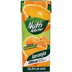 Néctar de Laranja Nutri Néctar 200ml