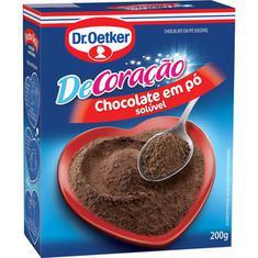 Chocolate em Pó Dr. Oetker 200g