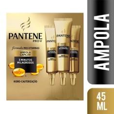 Ampola Pantene Hidro Cauterização 3 un. 15ml