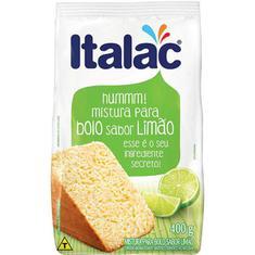 Mistura Bolo Italac Limão 400g