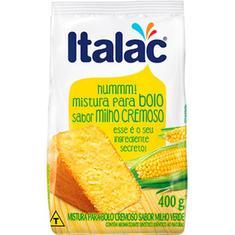 Mistura Bolo Italac Milho 400g