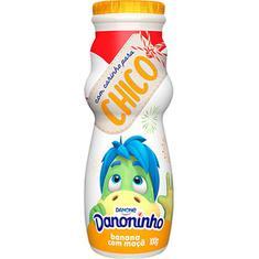 Iogurte Para Beber Sabor Banana e Mamão Danoninho 100g