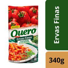 Molho Tomate Ervas Finas Quero Sachê 340g