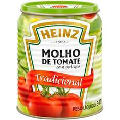 Molho Tradicional Heinz 340g