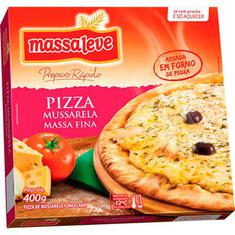 Pizza Mussarela Massa Leve 400g