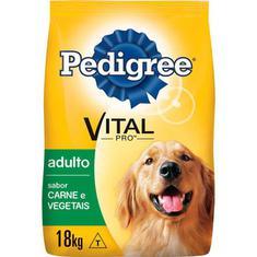 Ração para Cães Pedigree Carne e Vegetal 18Kg