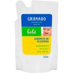 Sabonete Líquido Granado Bebê Tradicional Refil 250ml