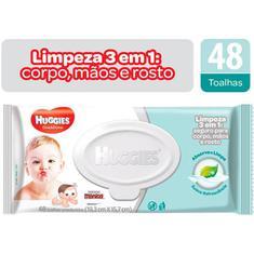 Lenço Umedecido Cheirinho Refrescante One&Done Huggies 48 unidades