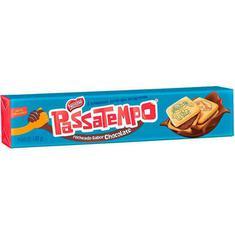 Biscoito Recheado Sabor Chocolate Passatempo Nestlé 130g