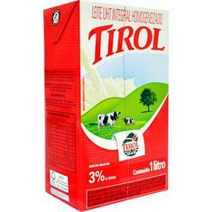 Leite Longa Vida Integral Tirol 1L