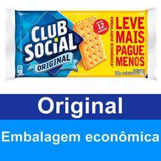 Biscoito Salgado Original Club Social 288g