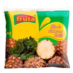 Polpa de Fruta Abacaxi e Hortelã Mais Fruta 10X100g