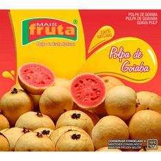 Polpa de Fruta Goiaba Mais Fruta 10X100g