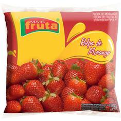 Polpa de Fruta Morango Mais Fruta 10X100g