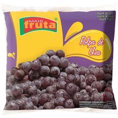 Polpa de Fruta Uva Mais Fruta 10X100g